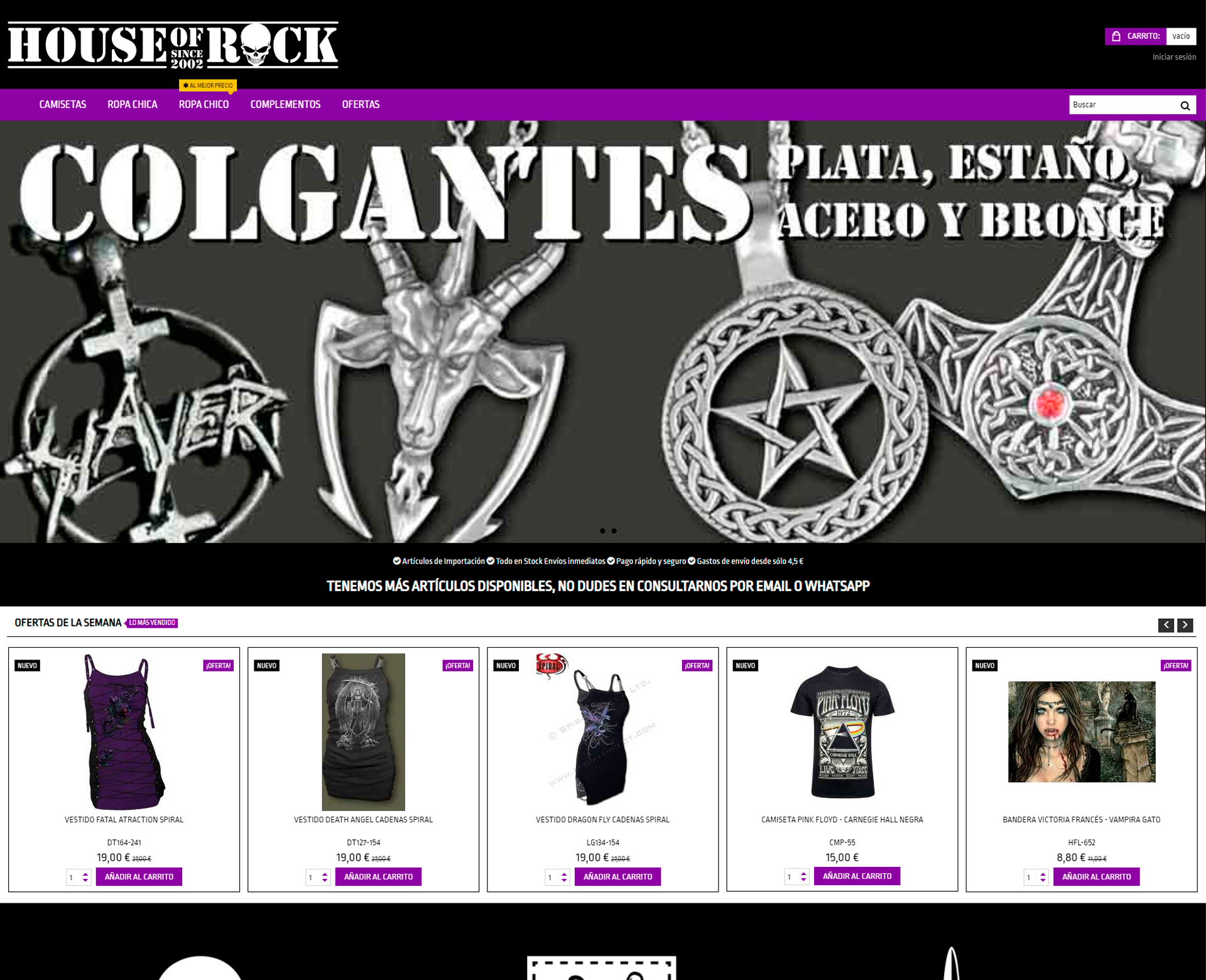 House of Rock Web Valencia